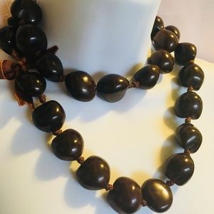 Jewelry - Kukui Nut Necklace Hawaiian Lei